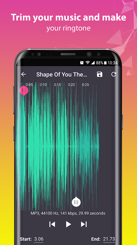 Android music player Screen 6