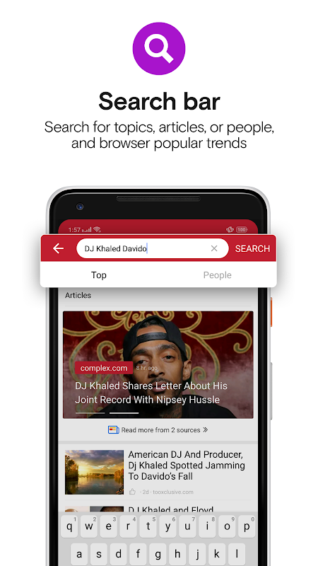 Opera News - Trending news and videos 7.0.2254.143413 Screen 2