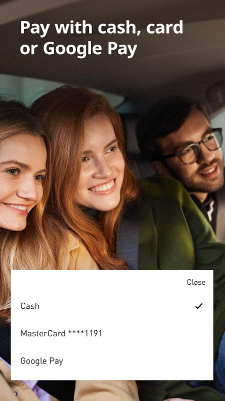 Android Uber Russia Screen 2