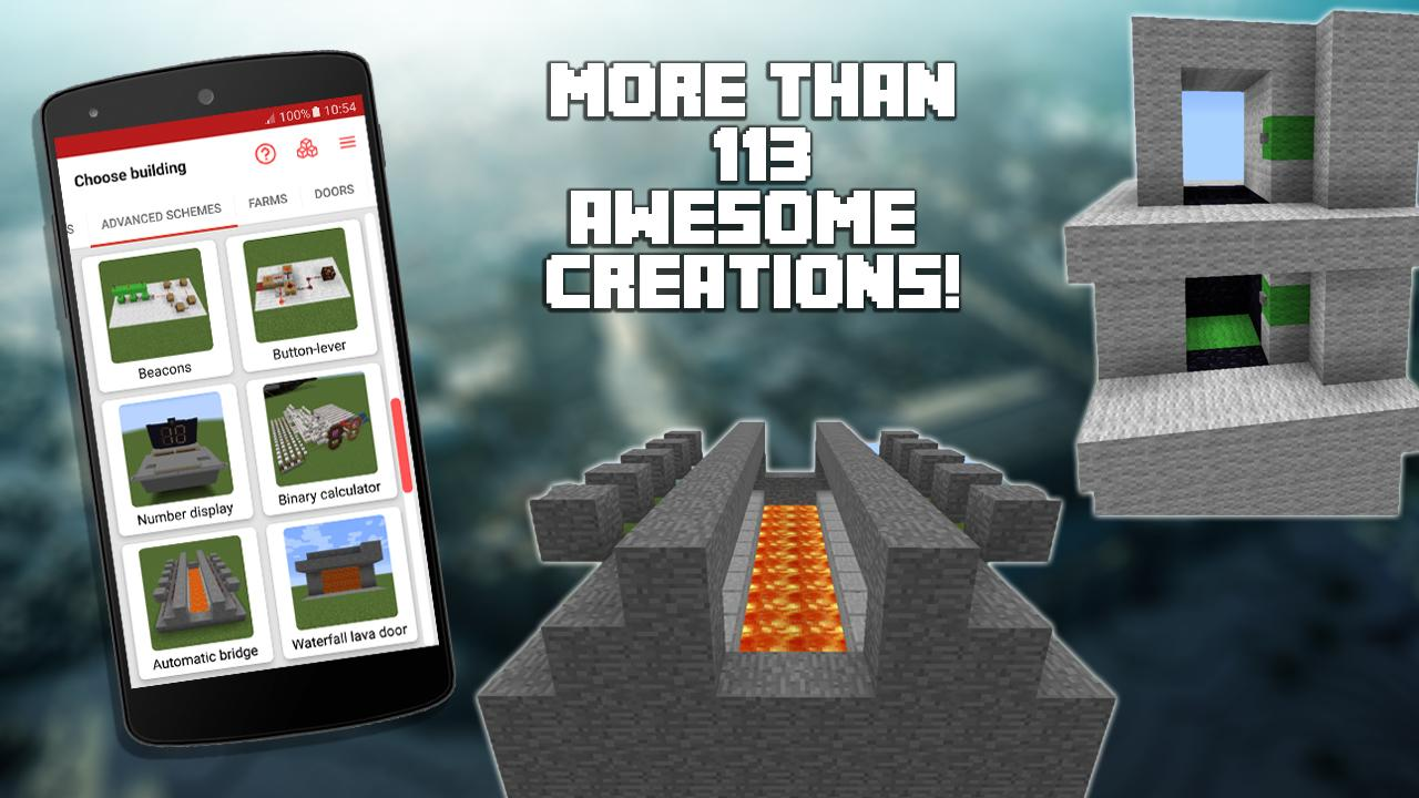 Redstone Builder for Minecraft PE 10.1 Screen 4
