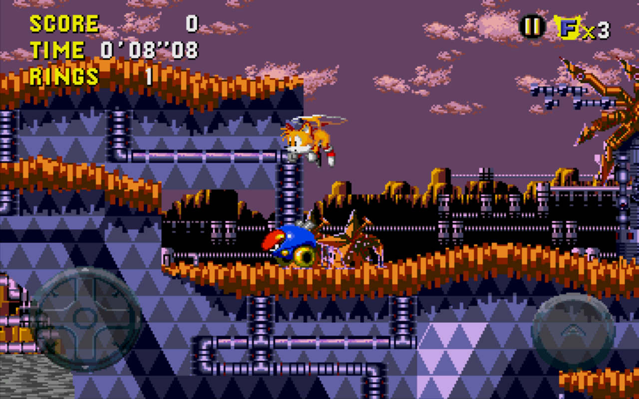 Android Sonic CD Screen 3