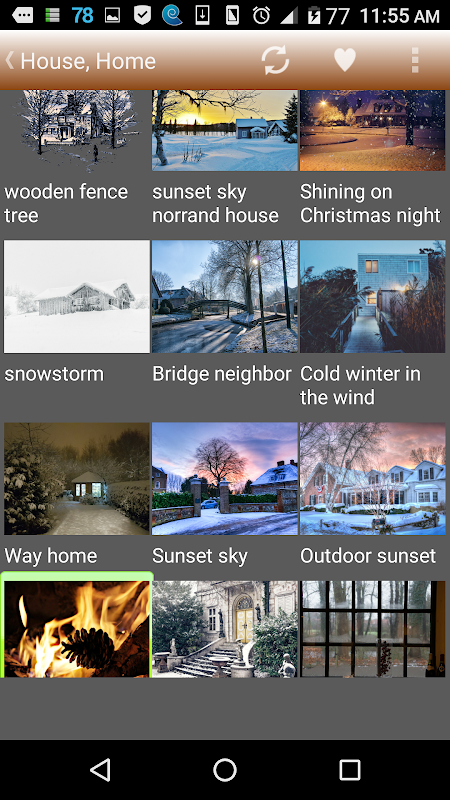 Android Winter Story Pro Screen 6