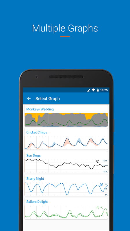 Android Flowx: visual long range weather forecast Screen 2
