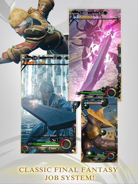 Android MOBIUS FINAL  FANTASY Screen 6