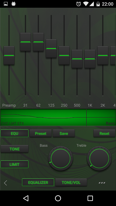 Poweramp EDM Skin 7 in 1 1.0 Screen 1