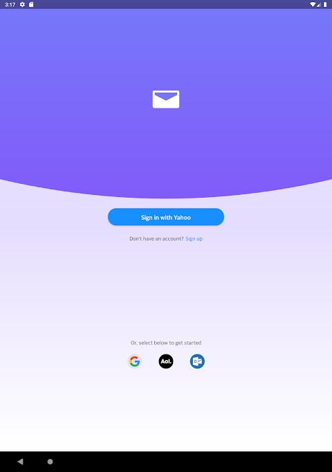 Yahoo Mail - Stay Organised 6.0.12 Screen 1