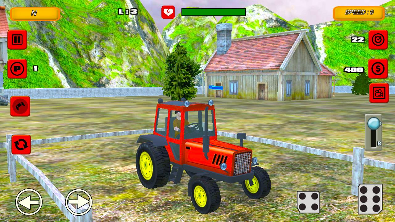 Tractor Farm Parking Drive 1.0 Screen 1