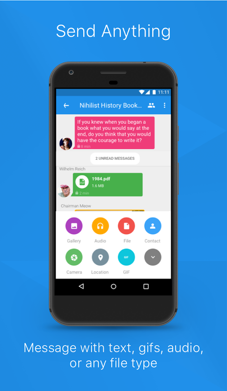 Signal Private Messenger 4.14.2 Screen 4