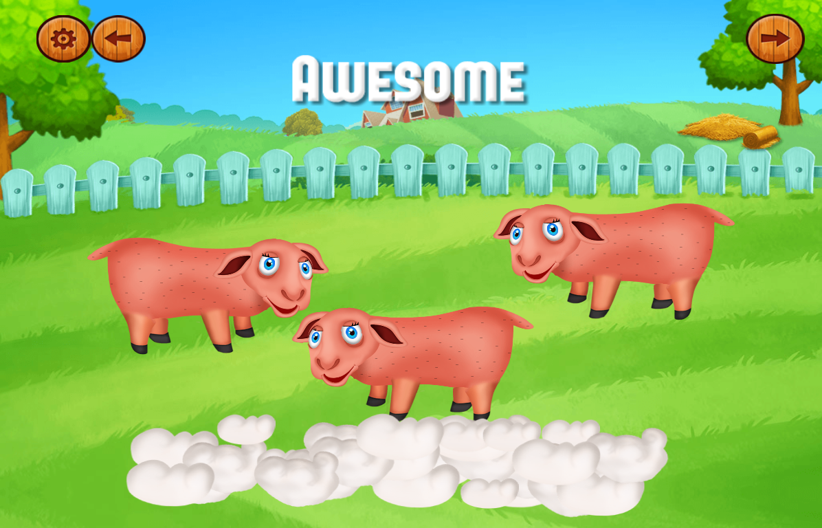Android Animal Farm Games For Kids Screen 5