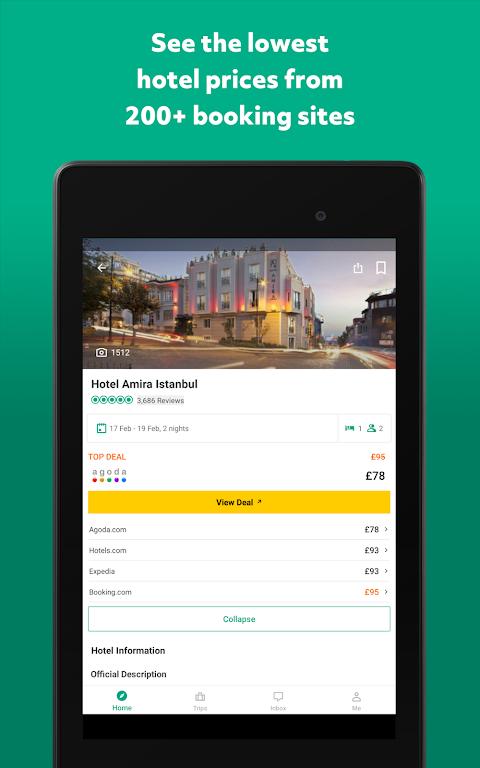 TripAdvisor Hotels Restaurants 32.2 Screen 21