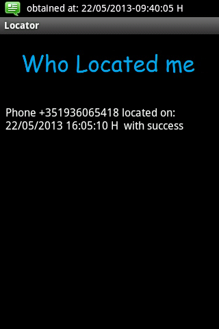 Android Locator Screen 4