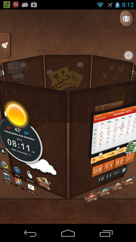 Android TSF Launcher 3D Shell Screen 4