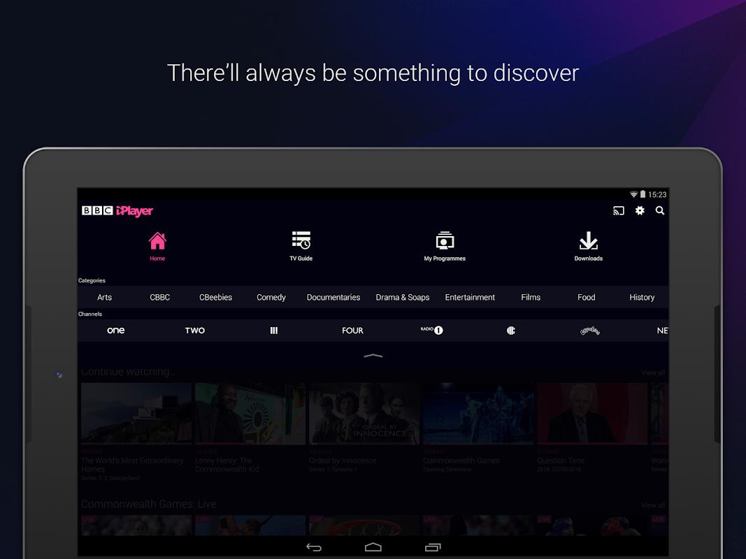 Android BBC iPlayer Screen 11