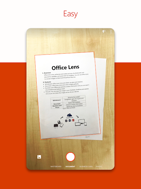 Android Microsoft Office Lens - PDF Scanner Screen 5
