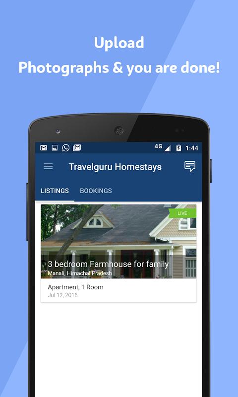 Android Travelguru Homestays Screen 7
