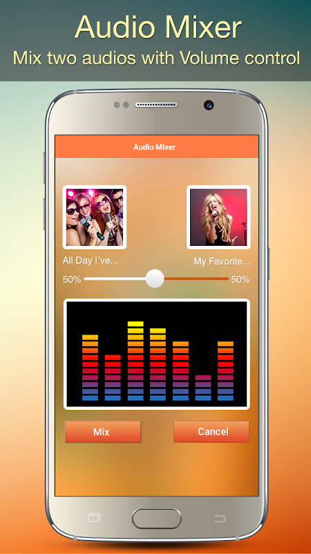 Audio MP3 Cutter Mix Converter and Ringtone Maker 1.81 Screen 4