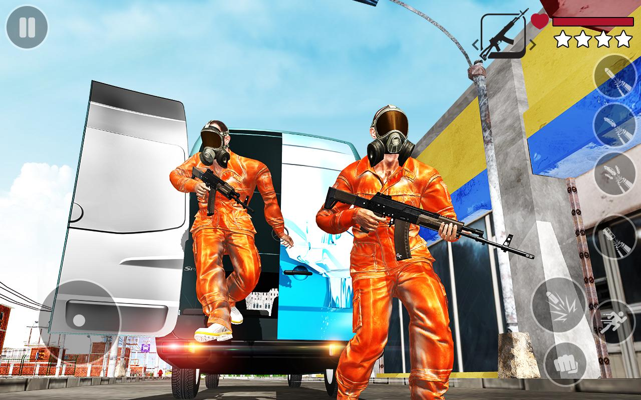 Android Real Gangster Miami Crime : Grand Auto Simulator Screen 1