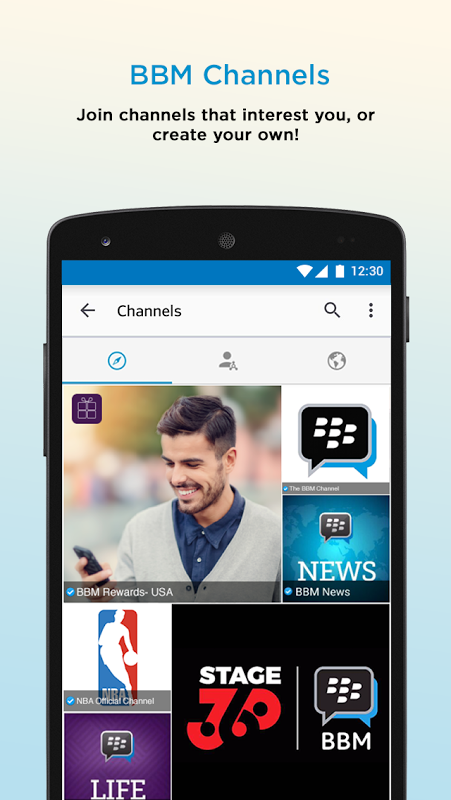 Android BBM - Free Calls & Messages Screen 5