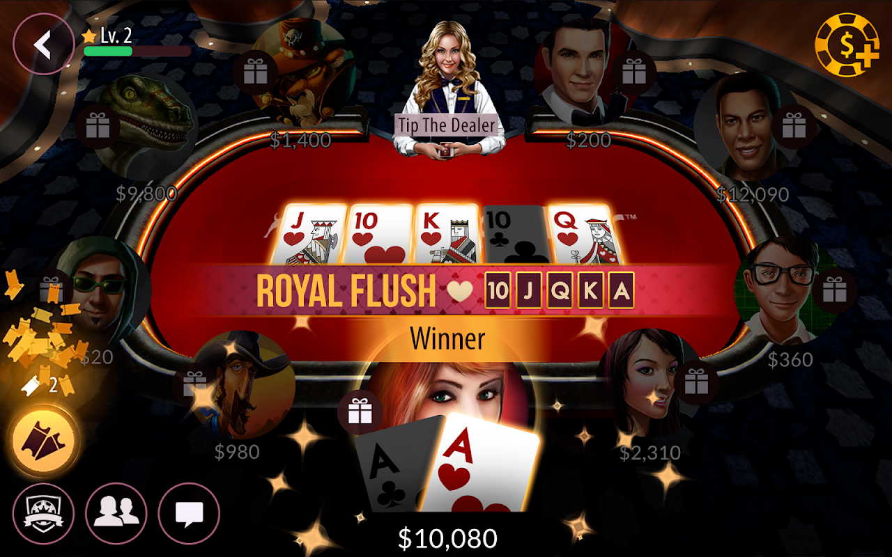 Android Zynga Poker – Texas Holdem Screen 17