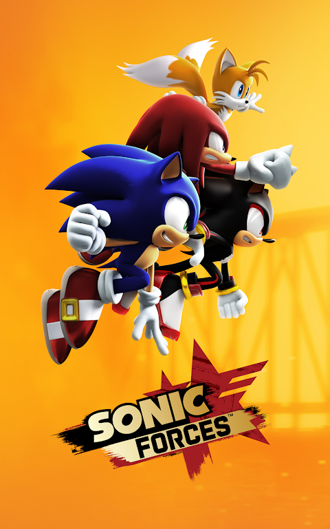 Android Sonic Forces Screen 1