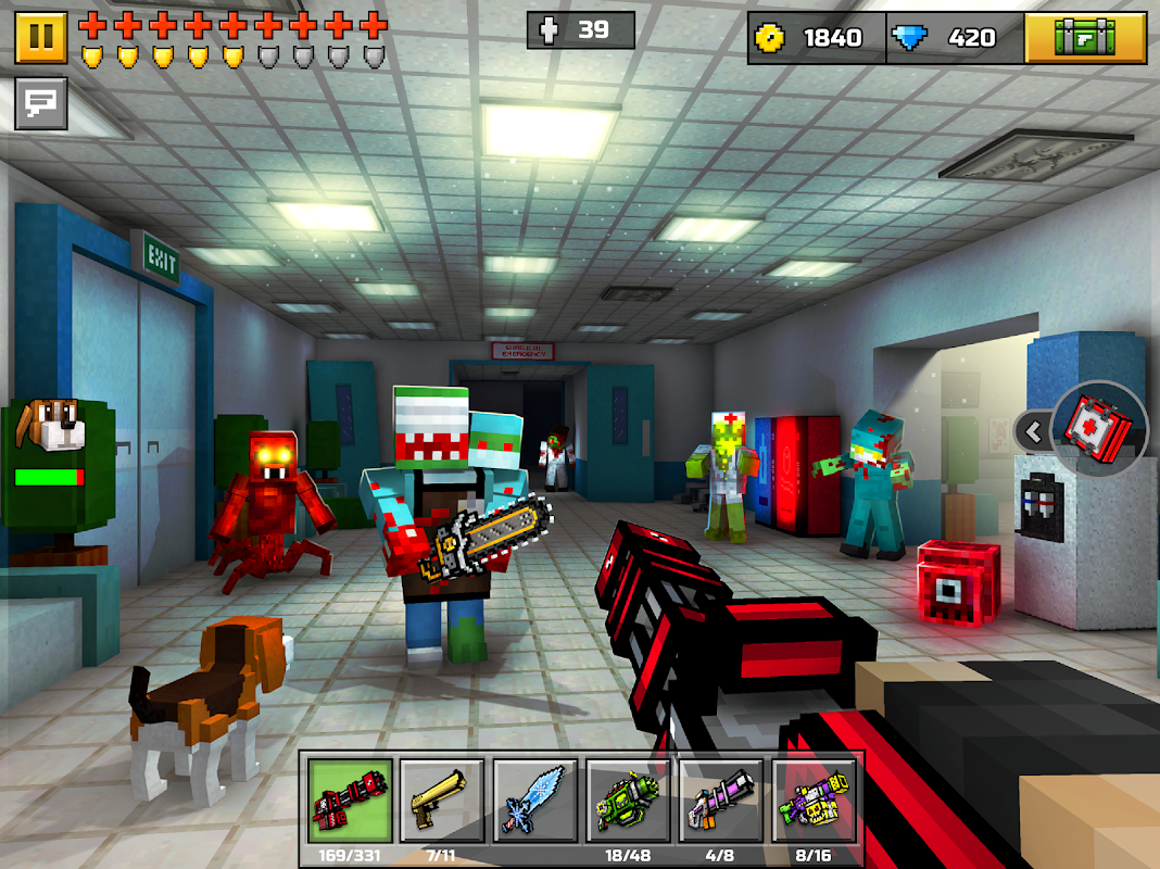 Pixel Gun 3D (Pocket Edition) 16.8.0 Screen 7