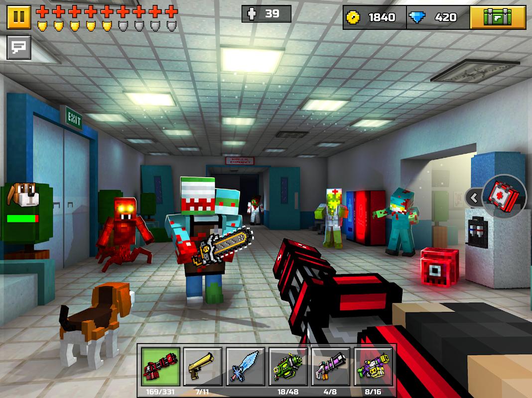 Pixel Gun 3D (Pocket Edition) 15.1.0 Screen 7
