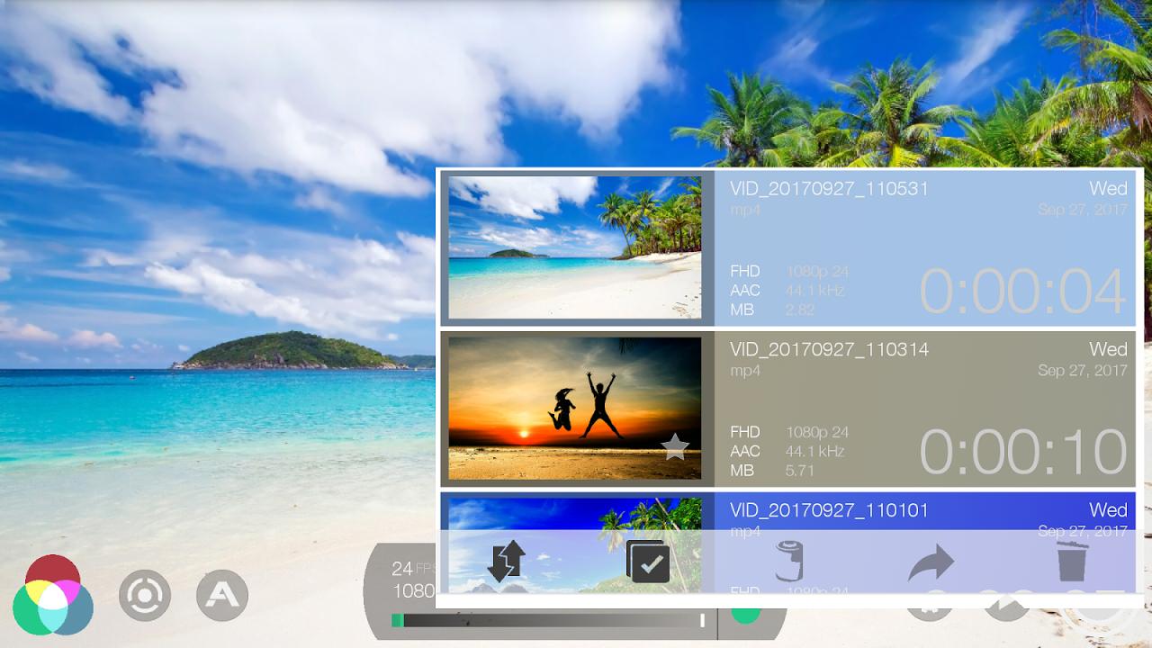 FiLMiC Pro 6.0.2 Screen 7