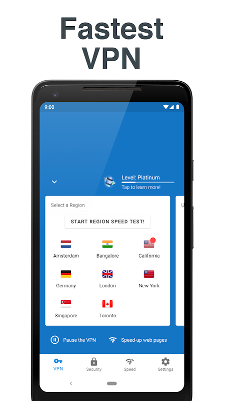 Hotspot VPN - Free, Unlimited, Fast, and Secure! 6.3.1008 Screen 12