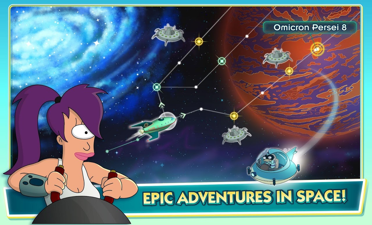 Android Futurama: Worlds of Tomorrow Screen 12