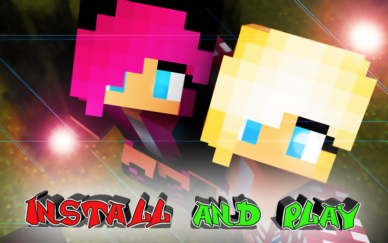 Android Girls skins for Minecraft Screen 2