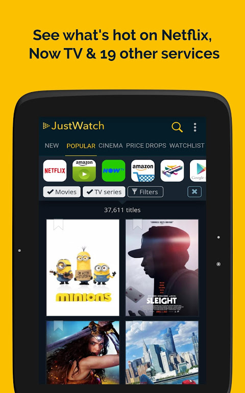 JustWatch - Search Engine for Streaming and Cinema 0.24.58 Screen 11