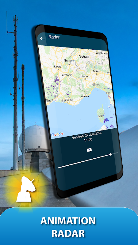 Android METEO FRANCE Screen 6