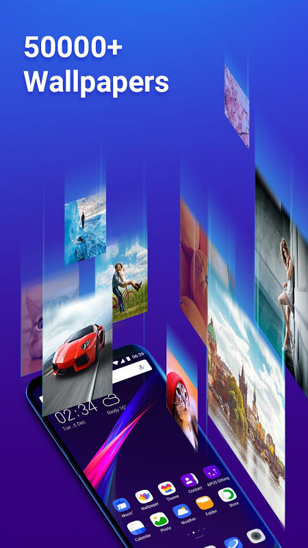 Android APUS Launcher Pro- Theme, Wallpapers, Boost, Smart Screen 2