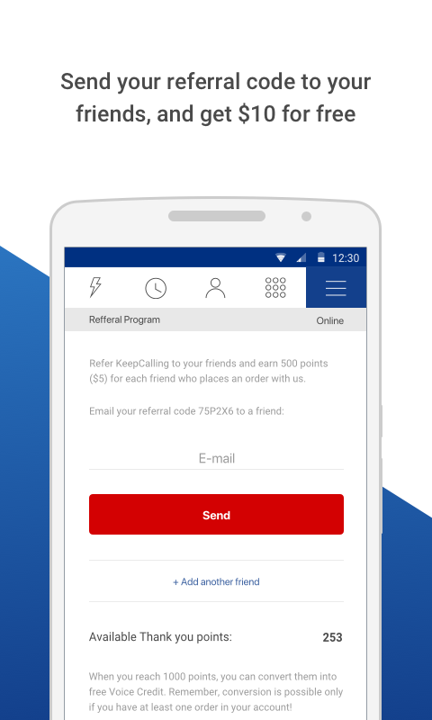 KeepCalling – Best Calling App 3.5.2 Screen 7
