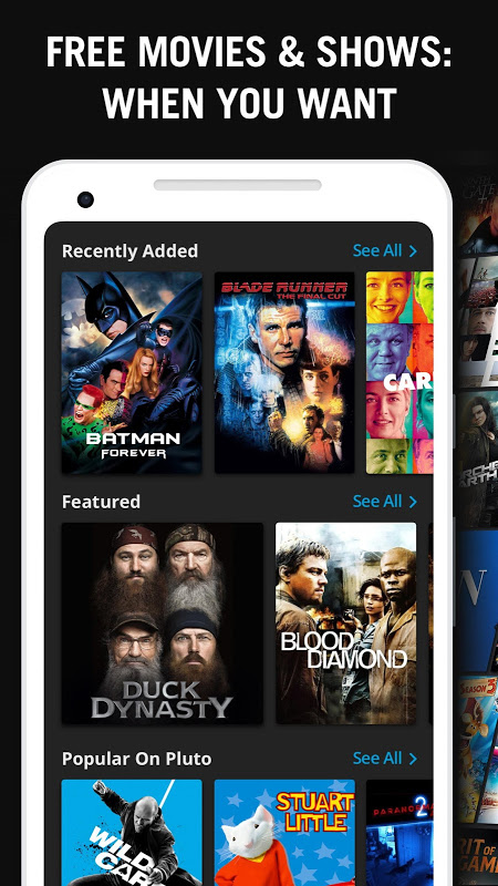 Android Pluto TV - It's Free TV Screen 5