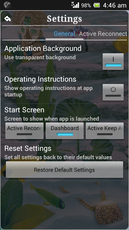 Connection Stabilizer Booster 1.9.4 Screen 4