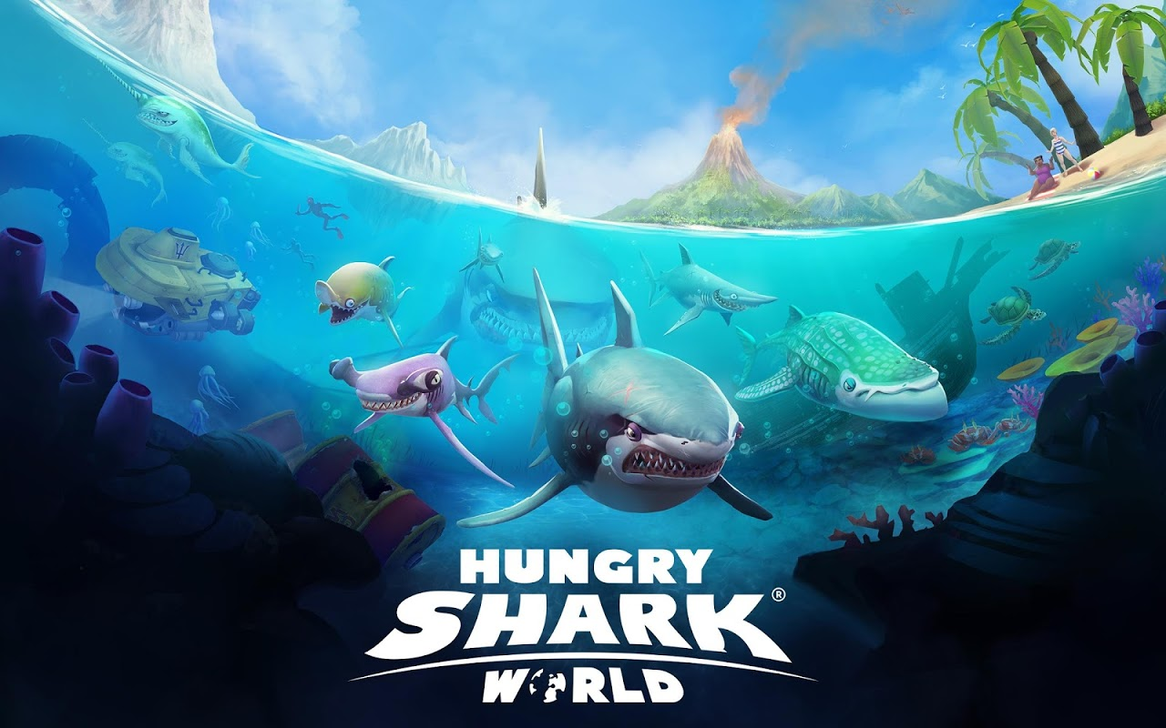 Android Hungry Shark World Screen 12
