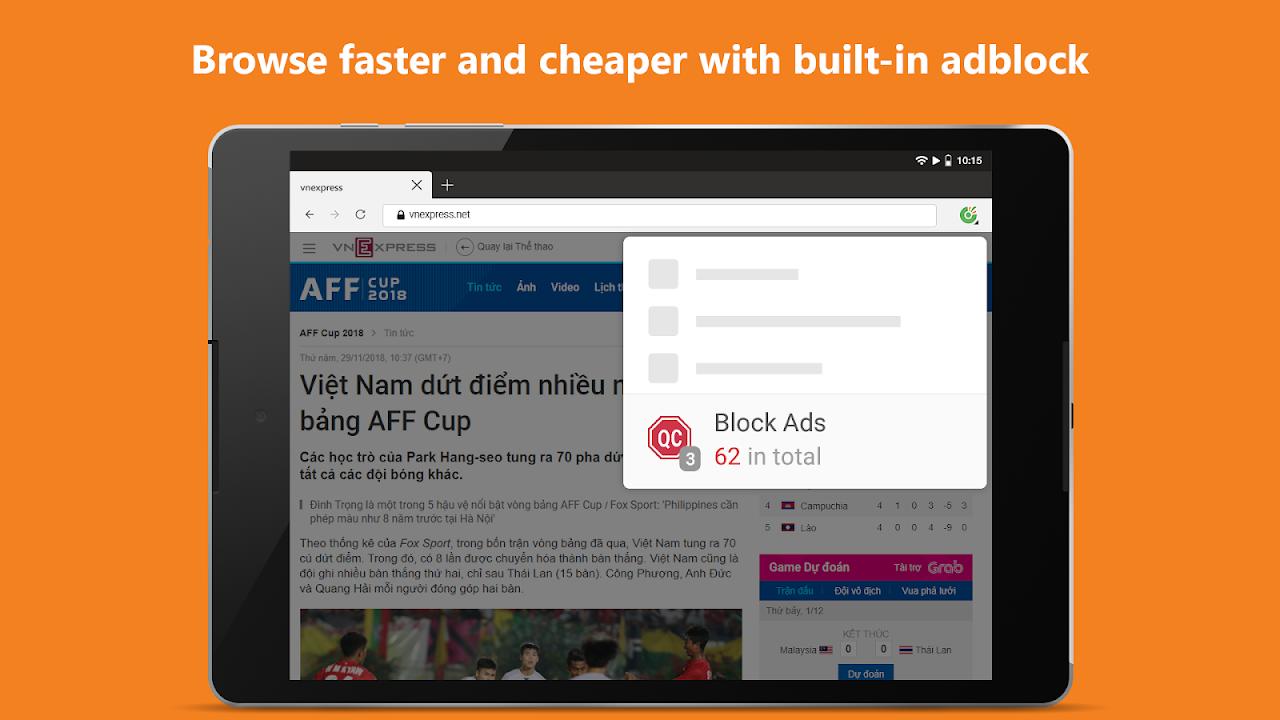 Cốc Cốc Browser 76.0.116 Screen 14