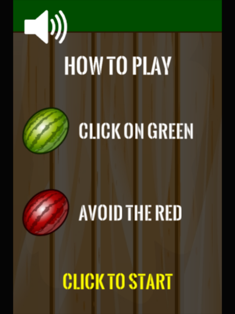 Android Watermelon Smasher Frenzy Screen 1