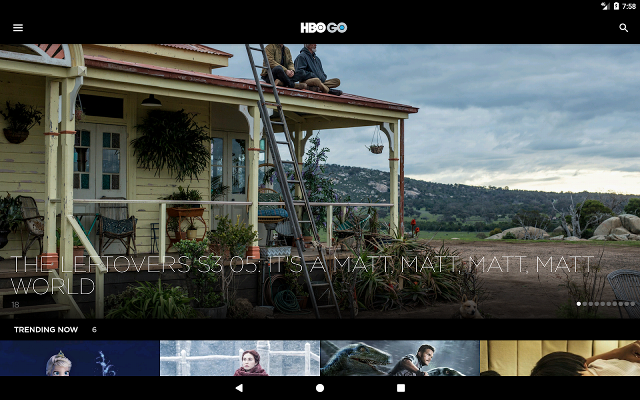HBO GO Singapore 5.0.9 Screen 5