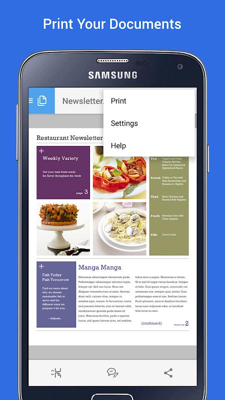 Samsung Print Service Plugin 3.03.180907 Screen 1