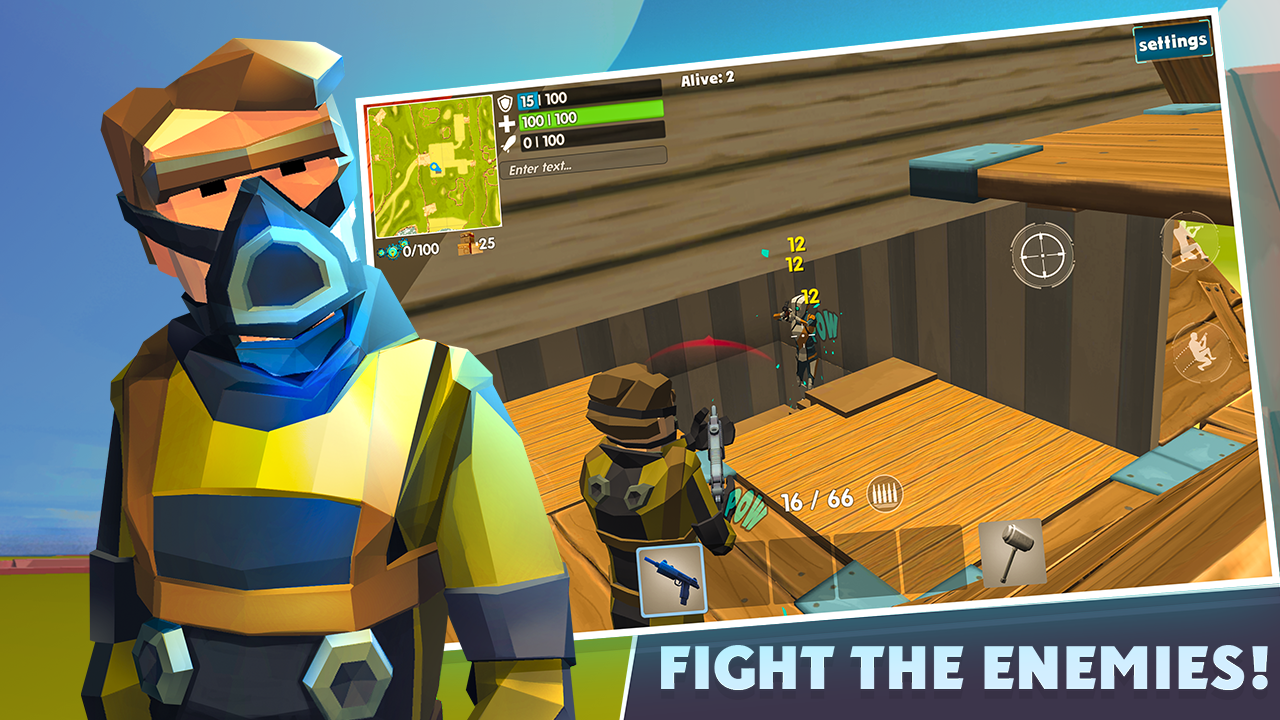 Android Rocket Royale Screen 2