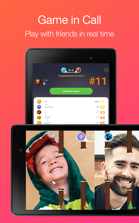JusTalk - Free Video Calls and Fun Video Chat 7.2.54 Screen 6