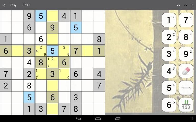 Sudoku 10.2.5.g Screen 11