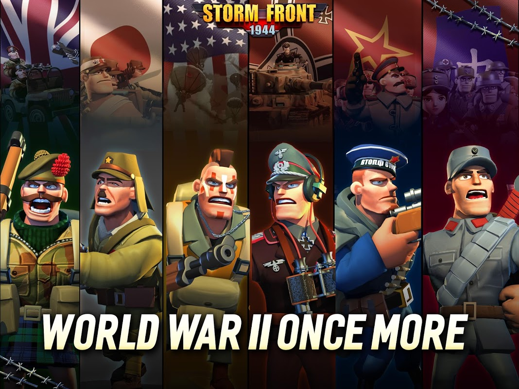 Android StormFront 1944 Screen 10