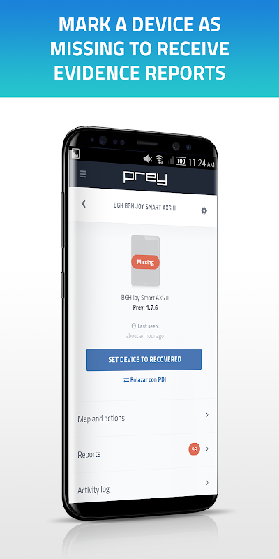 Prey Anti Theft: Find My Phone & Mobile Security 1.9.9 Screen 3
