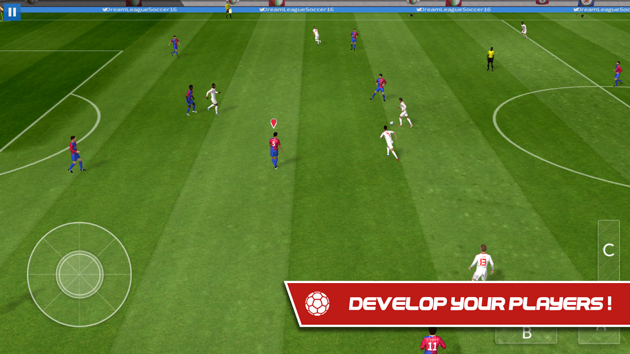 Android Dream League Soccer 2017 Screen 9