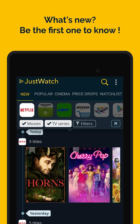 JustWatch - Search Engine for Streaming and Cinema 0.24.58 Screen 16