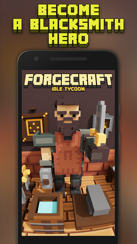 Android ForgeCraft - Idle Tycoon. Blacksmith Business Screen 4