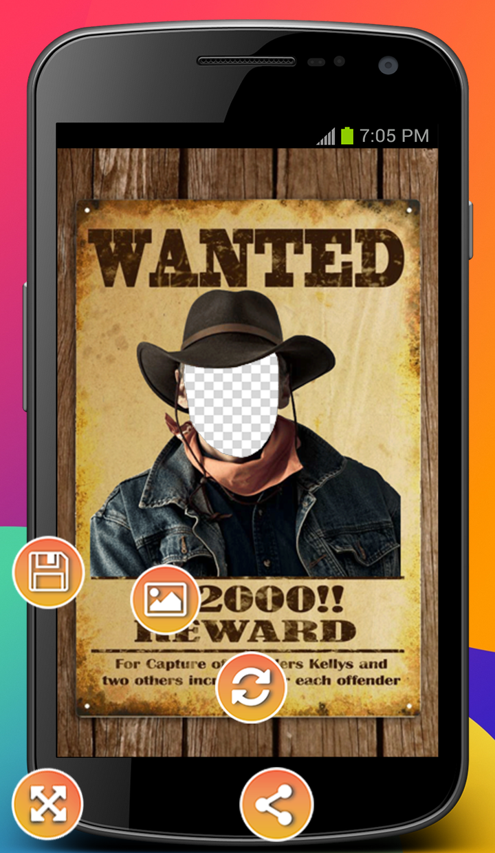 Android Most Wanted Photo Montage Screen 2